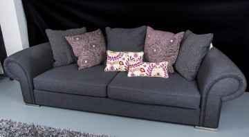Custom made fantasy scroll sofa