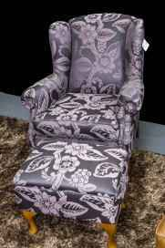 fabric wingchair