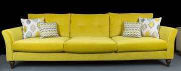 Yellow Ella Sofa, Argyle Furniture Design
