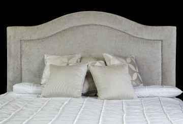 crome bedhead detail