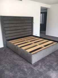 Kingsiz bed head with base Panel Design1